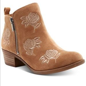 Lucky Brand Women's Basel Embroidery Booties